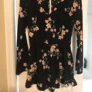 Long sleeve romper from Urban outfitters!